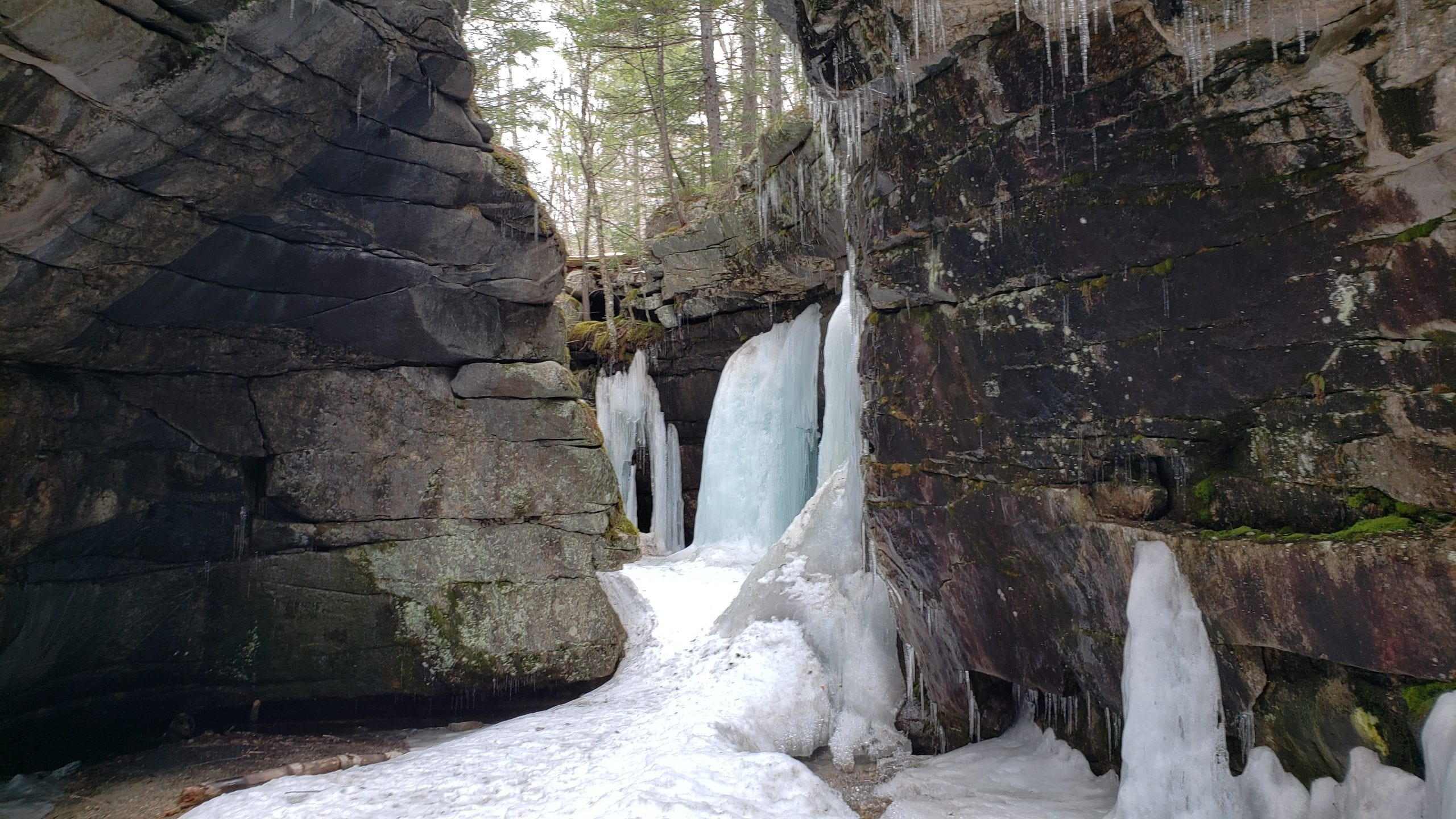 Devil's Den in Andover, Maine.